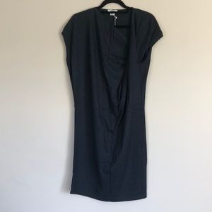NWT Helmut Lang Twisted Knit Wool Dress